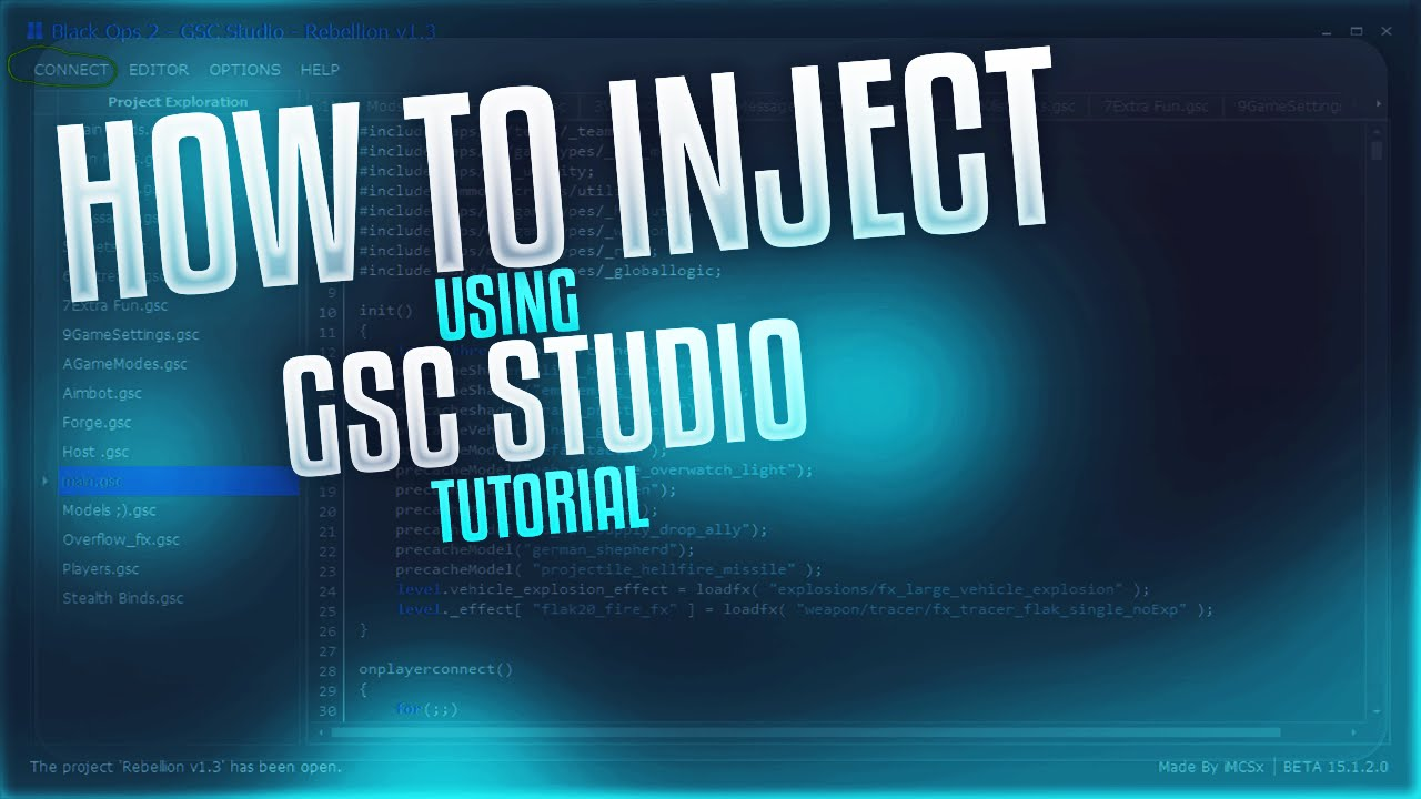 Bo2 gscr injector