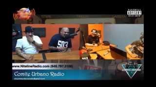 Mr Pelon 503 - Entrevista - Comite Urbano - habla de su CD 503 razones,tiraera a Don Omar y mas