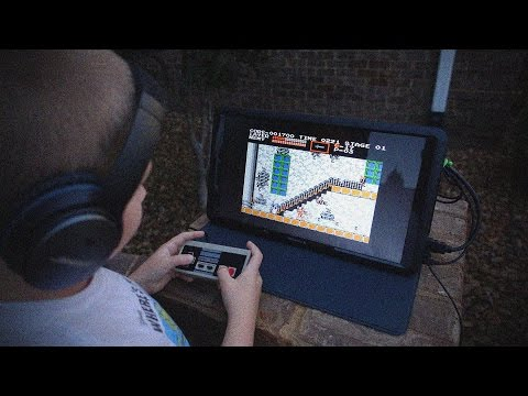Ultimate Portable Retro Gaming Set Up