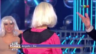 Ángela imita a Sia - Tu Cara Me Suena 2014