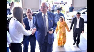 Najib arrives at MACC for solar energy case probe