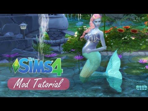 Barbie as a Mermaid! CC Tutorial | Sims 4