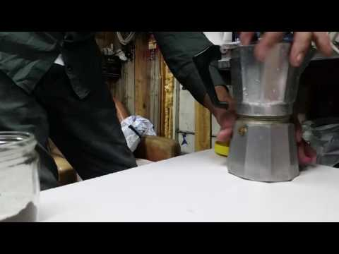 Aluminum Espresso Coffee Maker Machine