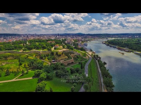 Belgrade from the Air - Film by Nigel Brown