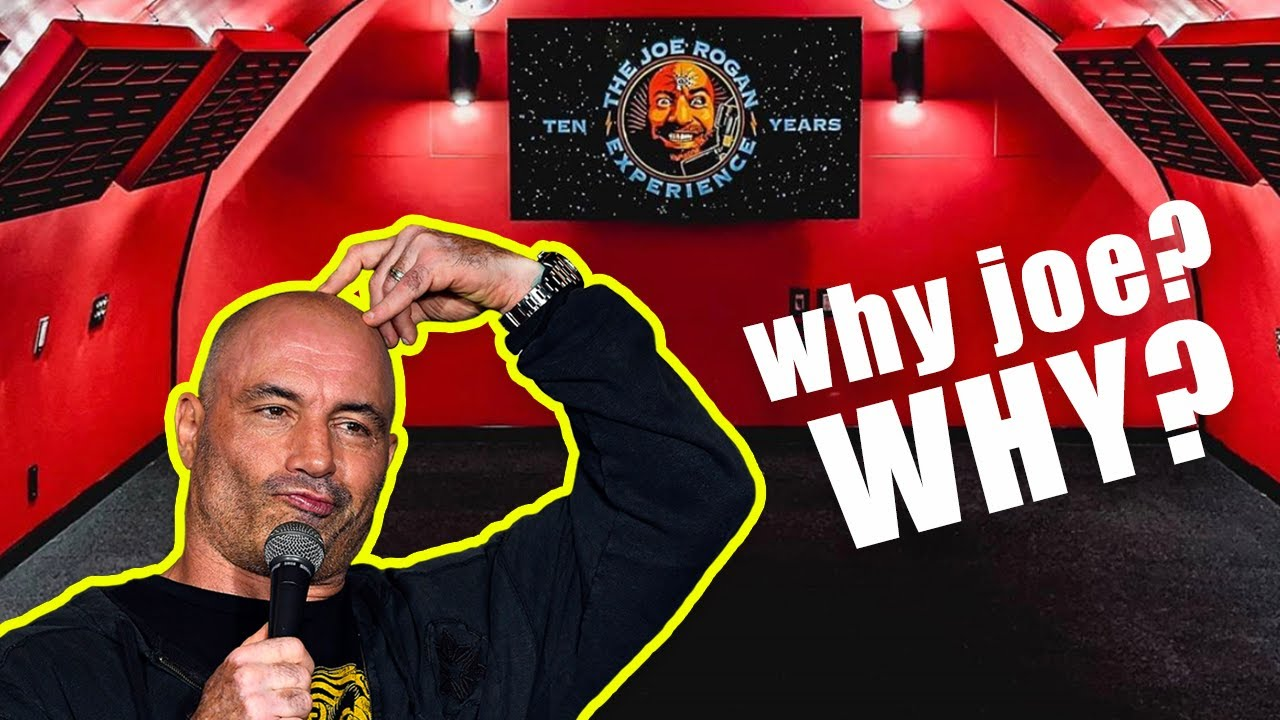 It's Entirely Possible the Joe Rogan Experience Lost Its Mind..