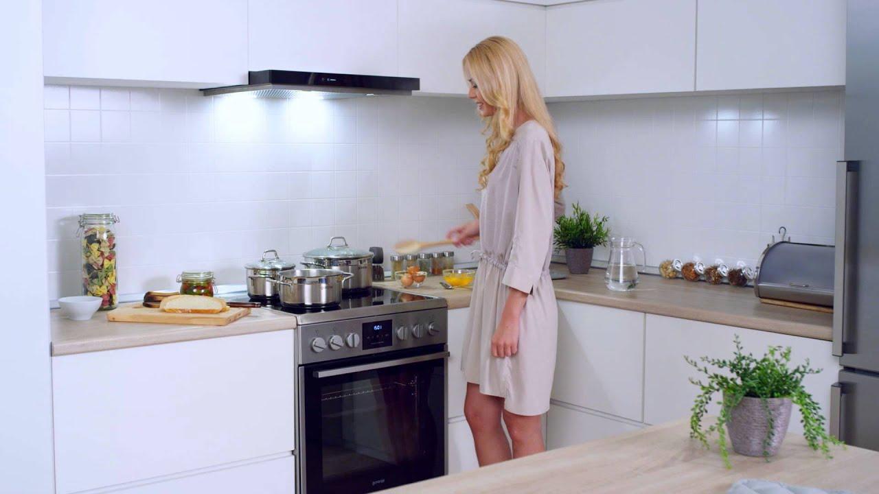 Широкий выбор моделей плит gorenje для создания кулинарных шедевров:. E51102aw электрическая плита класс энергопотребления: b.