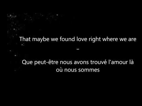 Ed Sheeran - Thinking Out Loud (Lyrics & Traduction Francaise)