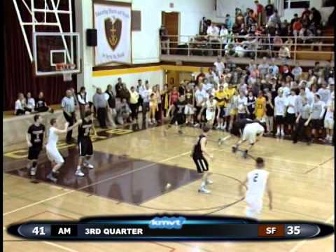 St Francis Lancers vs Archbishop Mitty Monarchs - Boys Basketball January 29, 2014