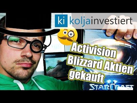 Warum ich 3.500 € in Activision Blizzard Aktien investiere - Investieren in Unterhaltung