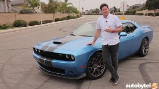 2016 Dodge Challenger SRT 392 Test Drive Video Review