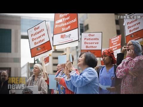 U.S. nurses rising up