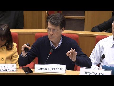 Impact de l'Intelligence Artificielle sur l'économie - Laurent ALEXANDRE au Senat (HD)