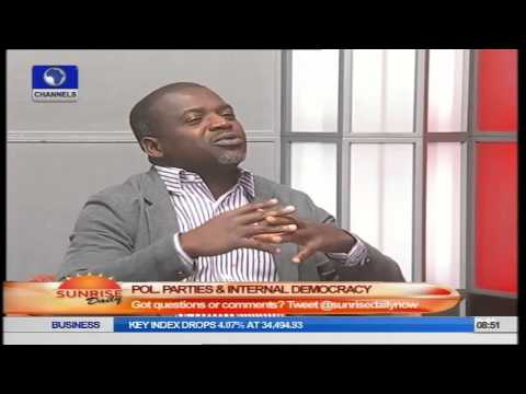 Sunrise Daily: Tola Odubajo Speaks on POL Parties and Internal Democracy PT2
