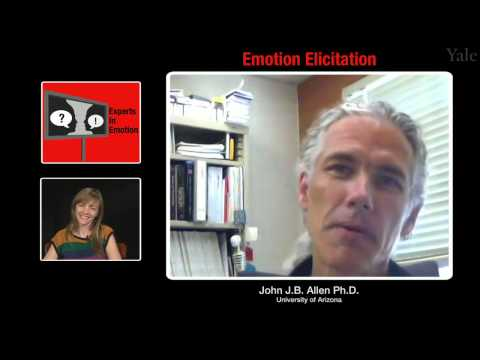 Experts in Emotion 2.1 -- John J.B. Allen on Emotion Elicitation
