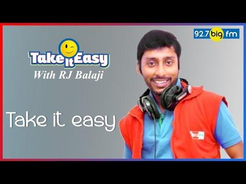 R.J. பாலாஜி  Take it Easy  KADALIL 120 RUBAAI !!!