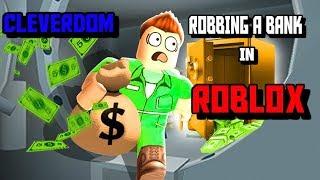 Voler une banque à Roblox !!! (Roblox #1)