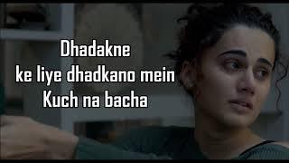 KYUN RABBA LYRICS | Badla | Armaan Malik | Amitabh Bachchan | Taapsee Pannu |