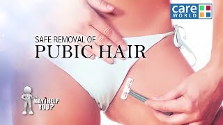 Zapętlaj How to Remove Your Pubic Hair at Home | Safe Removal of Pubic Hair- Dr. Charmi Thakker Deshmukh- KBM | Kuchh Bhi Milega
