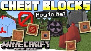 Minecraft Bedrock - How to get SECRET CHEAT BLOCKS in Survival GLITCH - Xbox,PS4,Window,Switch