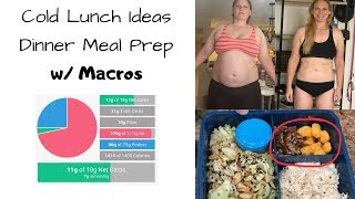 KETO Cold Lunch Ideas & Meal Prep for Weight Loss
