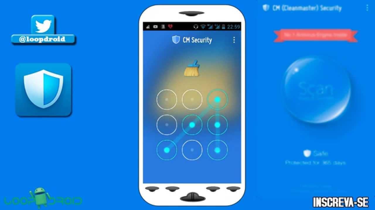 como rastrear meu celular pelo cm security