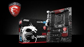 MSI X99S Gaming 7 2011-3 Обзор