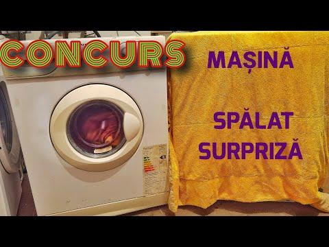 Concurs între mașini de spălat Arctic l400T. Program scurt de spălare! Quick washing machine race!