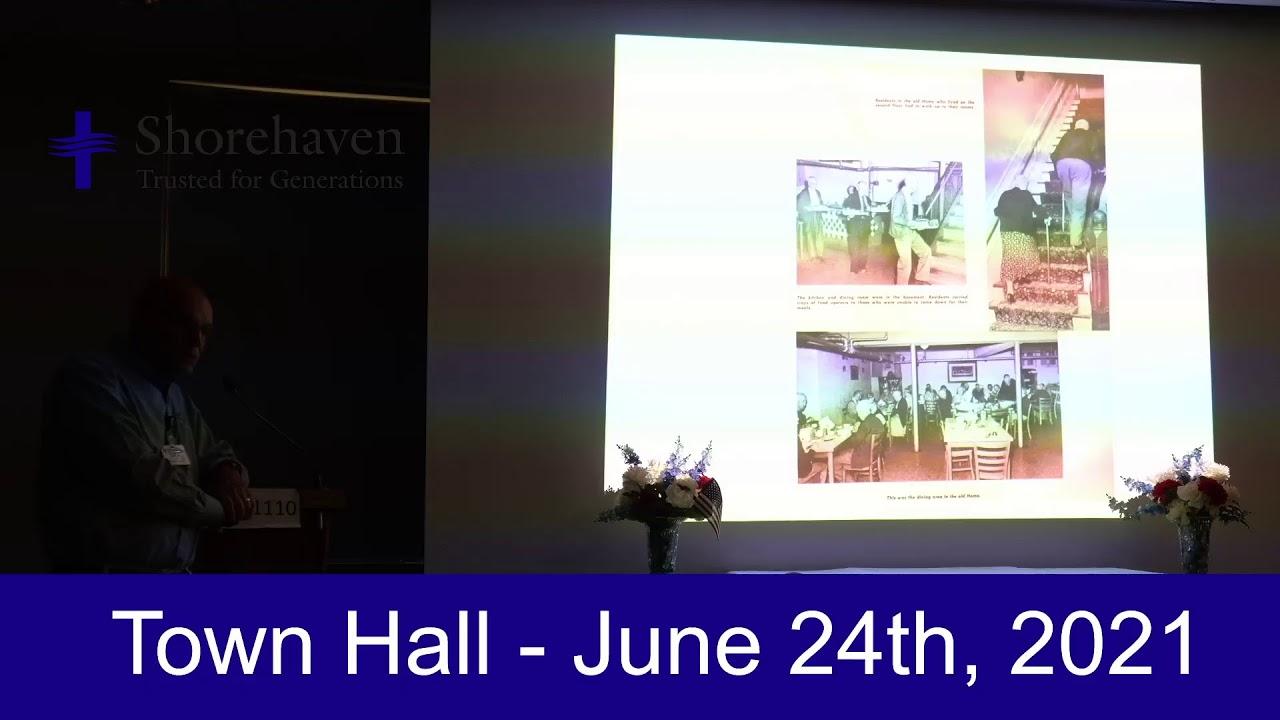 Town Hall 6-28-21