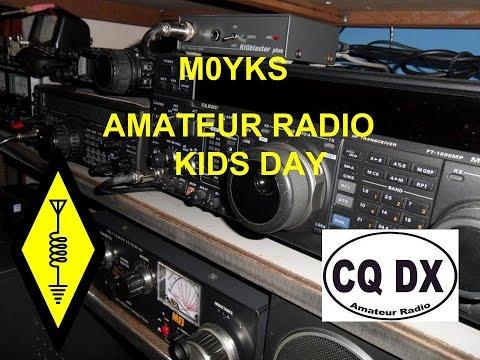 Ham Radio - CQ Kids Day!