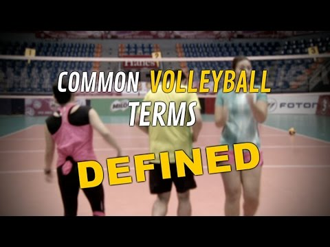 Common Terms In Volleyball | Powertips S02E07