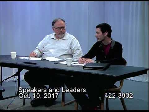 Speakers and Leaders 2017 October