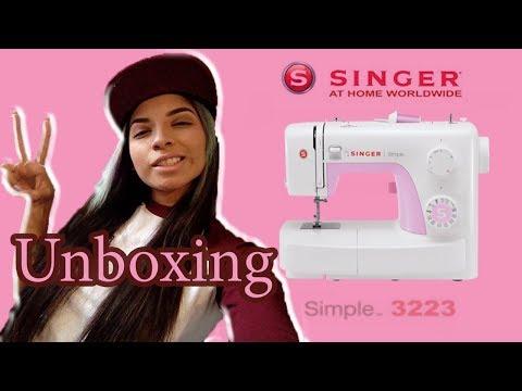 UNBOXING - Singer | simple 3223 | 👍 mi experiencia comprando en AMAZON ||LUCELI||🙋