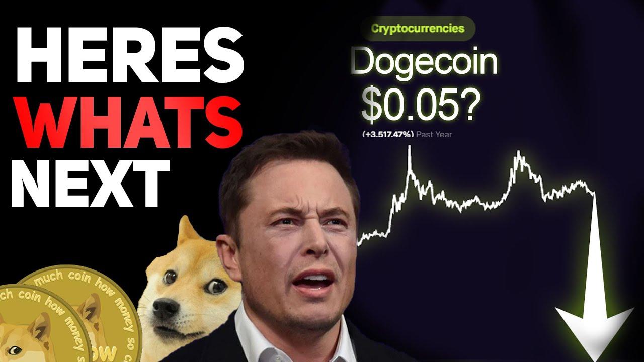 DOGECOIN AND CRYPTOS CRASHING!!!!!!!!!!!!!!! #DOGECOIN # ...
