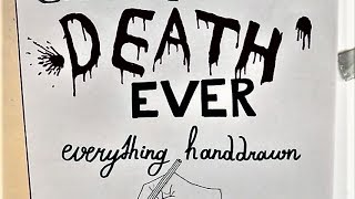 EVERY major GAME OF THRONES death EVER drawn with hand! (SPOILERS) by : HansoArt