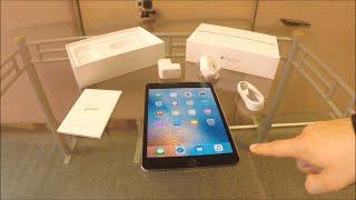 Apple iPad Mini 4 Unboxing UK