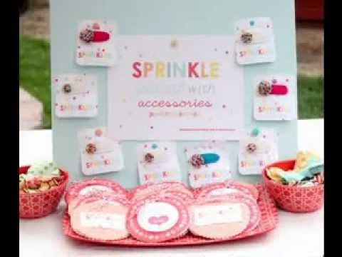 baby sprinkle ideas youtube