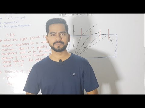 4.total internal reflection | ray optics | jee-neet physics class 12