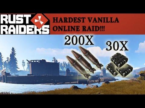 Rust - HARDEST VANILLA ONLINE RAID #Rust Raiders ├English|Deutsch┤
