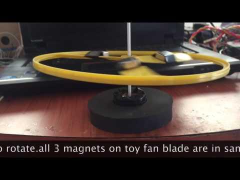Simple Magnetic levitation & Free Energy