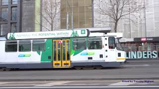 Trams of Melbourne, Australia 2017 - Largest Tram System in the World!!