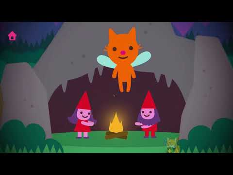 Magic World of Sago Mini Fairy Tales - Do you want to see a unicorn or to jump on a trampoline? Apps