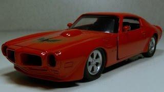 Тюнинг моделей. Ремонт Pontiac Firebird 1973(Тюнинг моделей. Pontiac Firebird производился подразделением Pontiac концерна General Motors в период с 1967 по 2002 год. Firebird..., 2015-12-15T08:01:40.000Z)