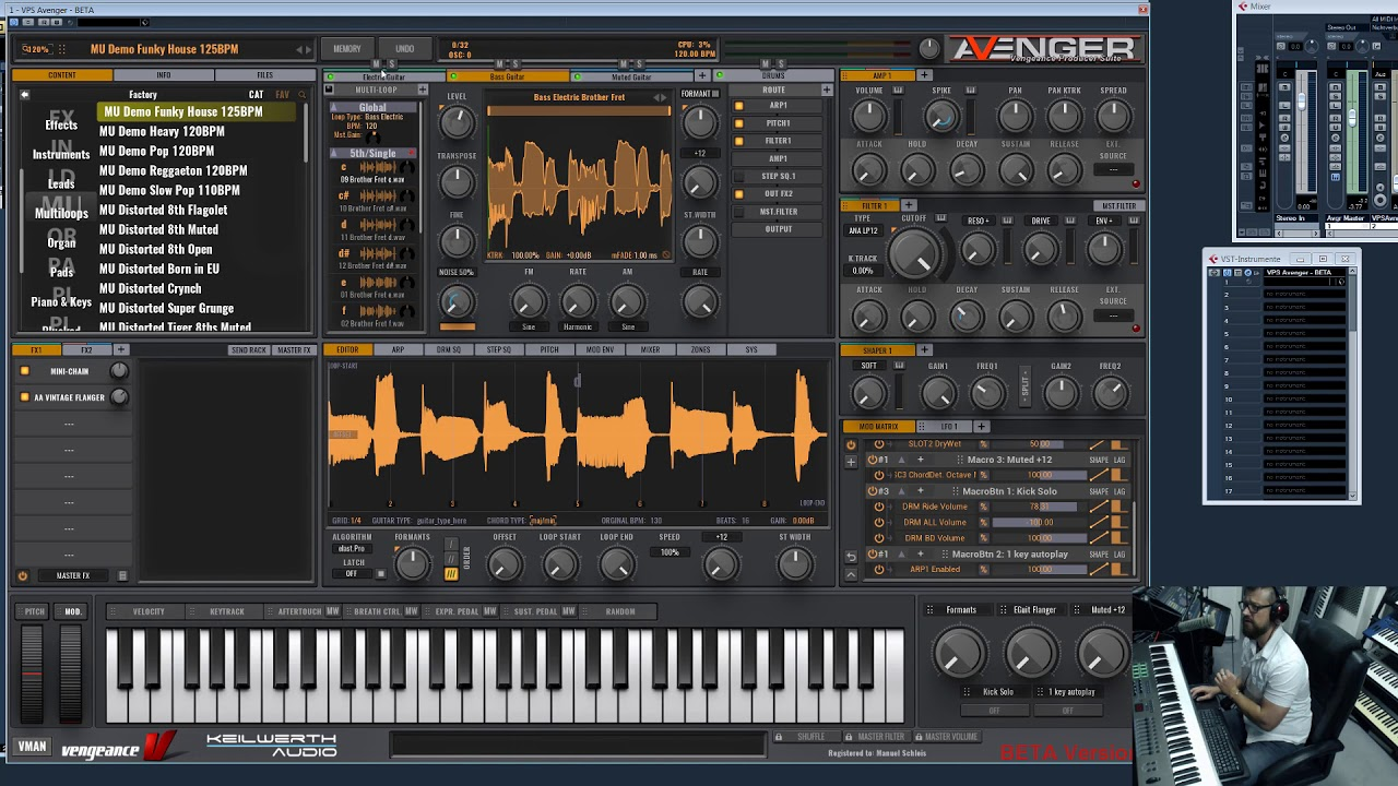 Vengeance Producer Suite Avenger: New 1 5 0 Update features - Long Video