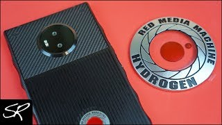 RED HYDROGEN ONE Holographic Smartphone Unboxing & First Impressions!