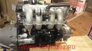 видео ГАЗель с двигателем ЗМЗ-405
