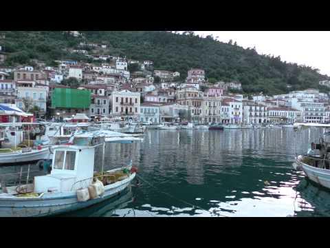 Timelapse of  Gytheio Greece