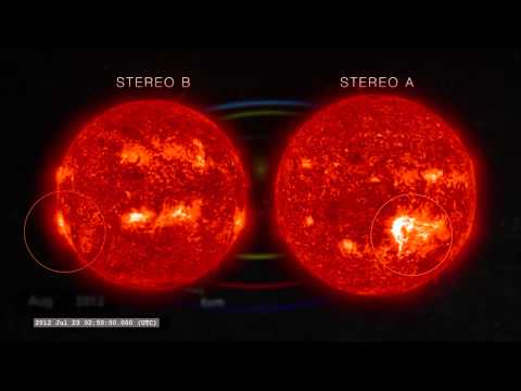Solar Storm Would Have Wreaked Havoc On Earth - Multiple Views   Video