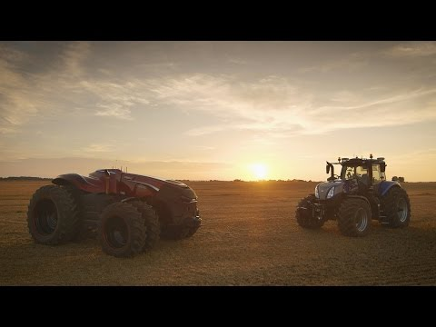 The CNH Industrial Autonomous Tractor Concept (ESPAÑOL)