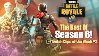 STUCK UNDER THE MAP GLITCH - SEASON 6 FUNNY MOMENTS | Fortnite Twitch Clips Of The Week #2
