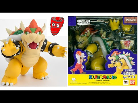 S.H. Figuarts Super Mario Bowser King Koopa - Video Game Spin